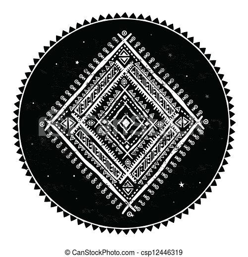 Un adorno étnico - csp12446319