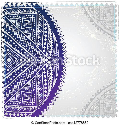 Un adorno étnico - csp12778852