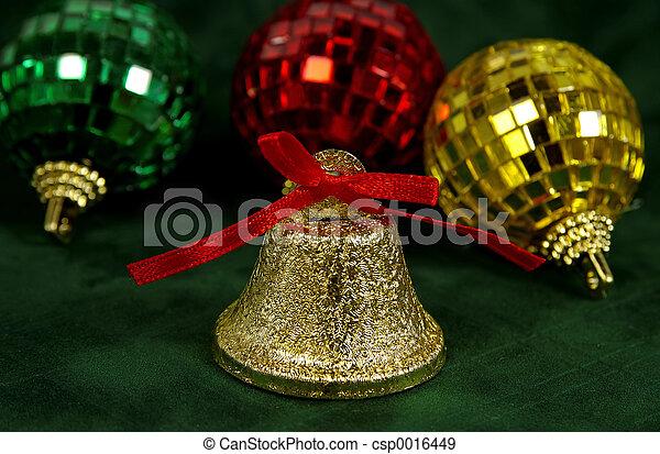 Un adorno de campana - csp0016449