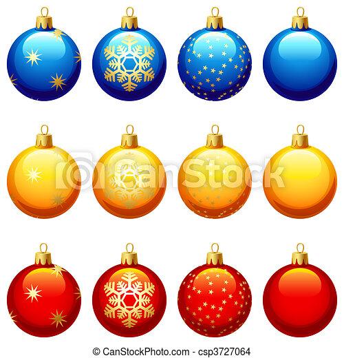 Ornamento de Navidad - csp3727064