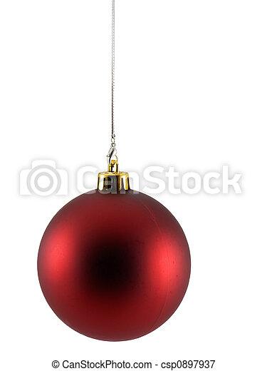 Ornamento de Navidad - csp0897937