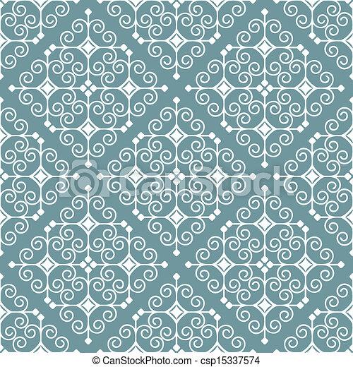 Ornamento sin costura - csp15337574
