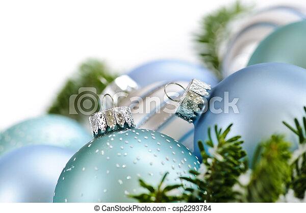 Ornamentos de Navidad - csp2293784