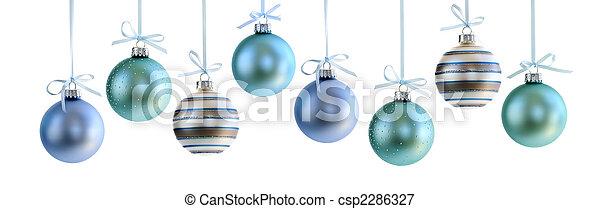 Los adornos navideños - csp2286327