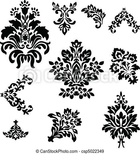Decorados florales - csp5022349