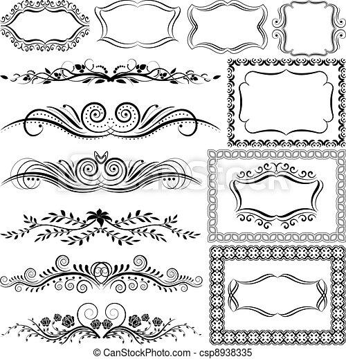 ornaments - csp8938335