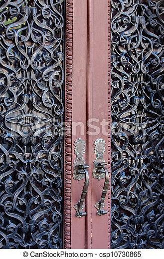 Ornate Doors - csp10730865