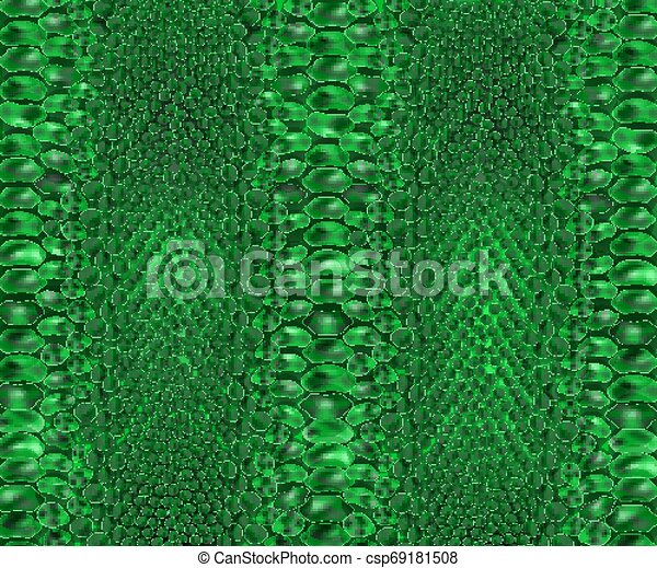 Snake skin texture. Seamless pattern black on white background. Clipart    k25470531   Fotosearch