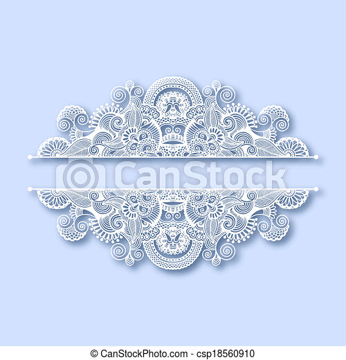 ornate greeting card, christmas decoration - csp18560910
