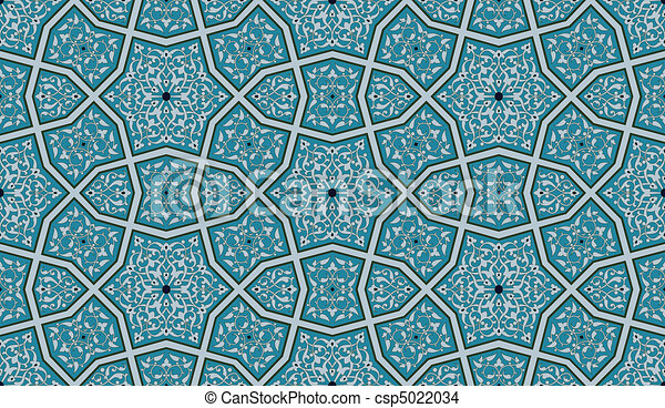 Ornate Seamless Pattern - csp5022034