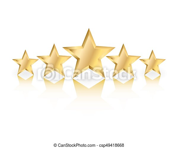 Estrellas de oro - csp49418668