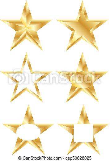 Estrellas de oro - csp50628025