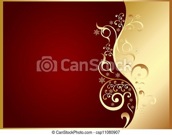oro, scheda rossa, invito - csp11080907