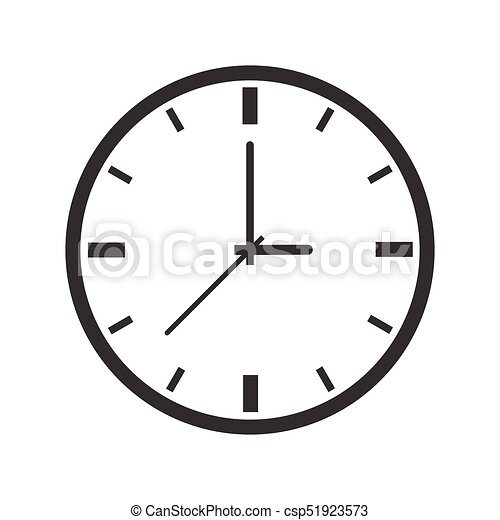 Orologio Iconic Vettore Disegno Icona Orologio Simbolo