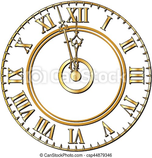 Orologio Vecchio Faccia