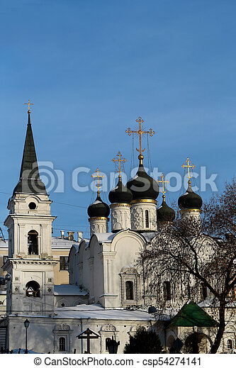 Orthodox Church in Moscow - csp54274141