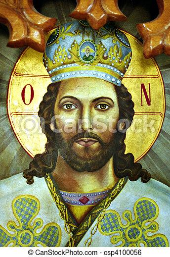 Orthodox greek icon - csp4100056