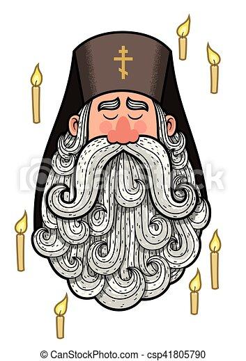Orthodox Priest - csp41805790