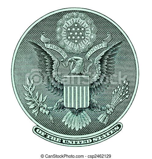 orzeł, halabarda, dolar, znak - csp2462129