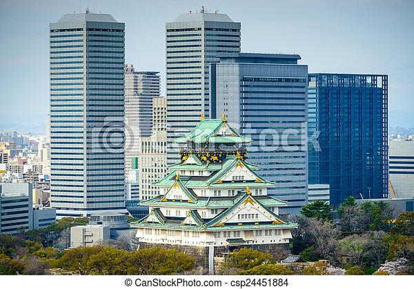 Osaka Castle - csp24451884