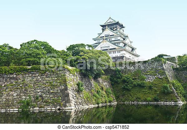 Osaka Castle - csp5471852