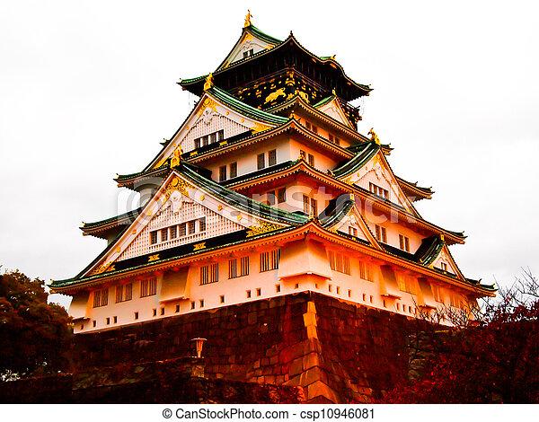 Osaka castle1 - csp10946081