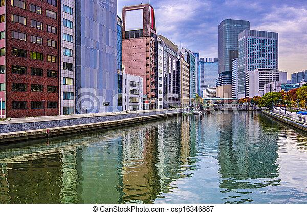 Osaka Cityscape - csp16346887