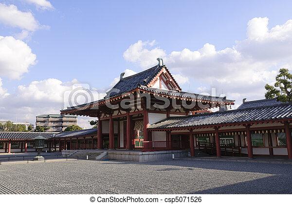 Osaka, Japan - csp5071526
