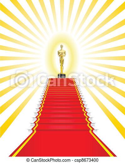 Oscar Award. - csp8673400