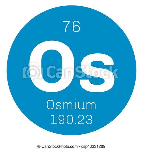Osmium chemical element osmium is the densest naturally vector osmium chemical element csp40331289 urtaz Choice Image