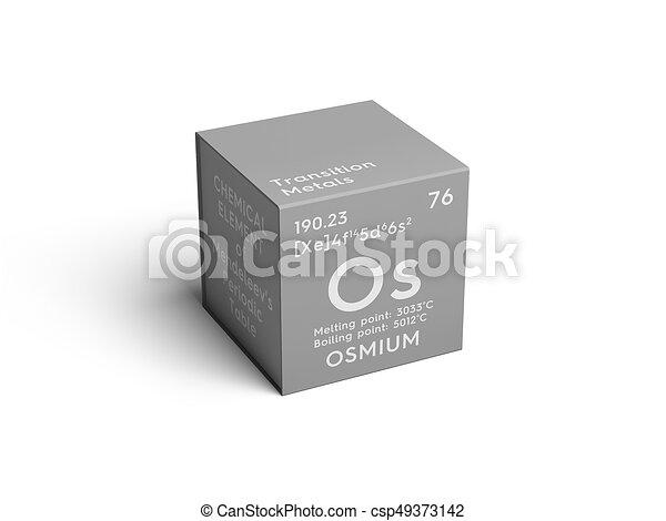 Osmium transition metals chemical element of mendeleevs osmium transition metals chemical element of mendeleevs periodic table csp49373142 urtaz Choice Image