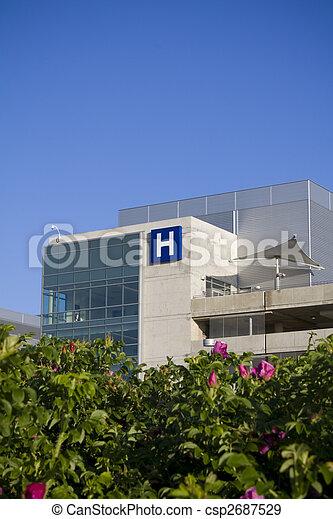 ospedale, moderno - csp2687529