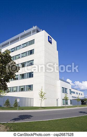 ospedale, moderno - csp2687528