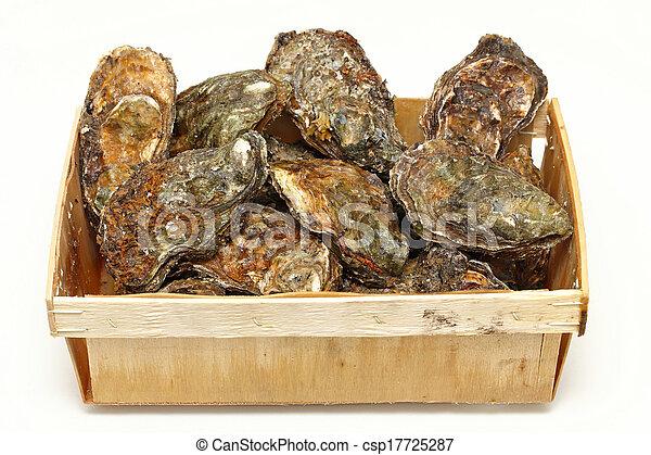 Caja de ostras - csp17725287