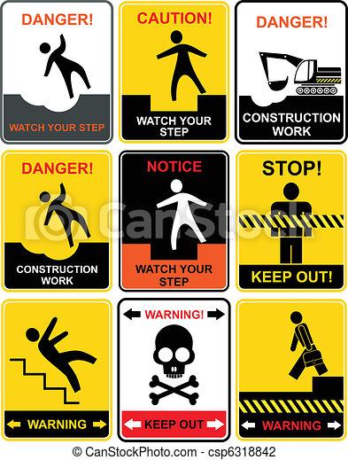 ostrzeżenie sygnuje - csp6318842