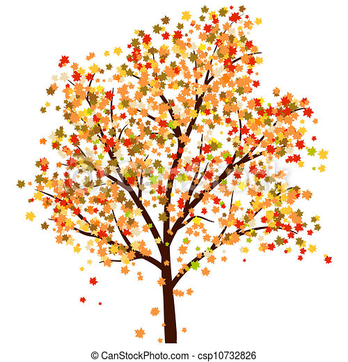 otoño, arce - csp10732826