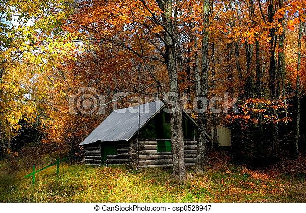 otoño, escena - csp0528947