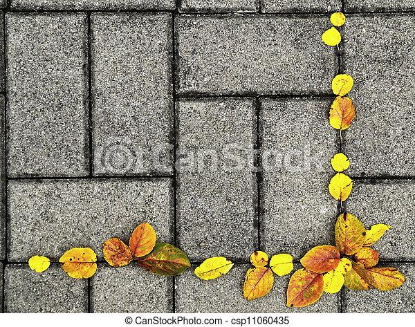 otoño, plano de fondo - csp11060435