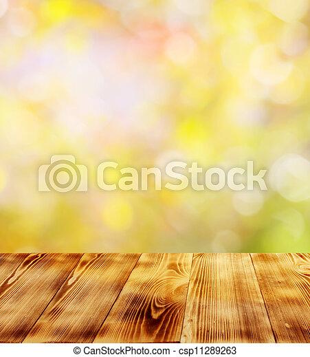 otoño, plano de fondo - csp11289263