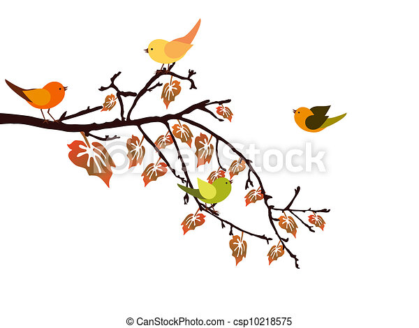 otoño, rama - csp10218575
