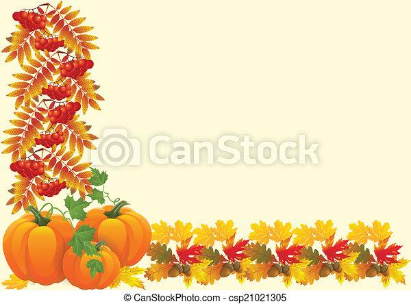 Regalos de otoño - csp21021305
