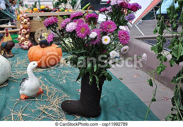 otoño, regalos, naturaleza - csp11992789