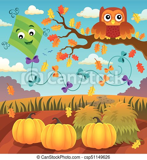 otoño, topic, imagen, 2 - csp51149626
