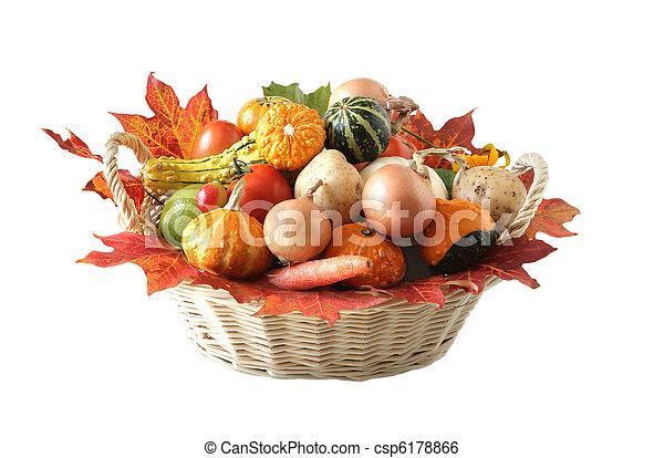 Verdura de otoño - csp6178866