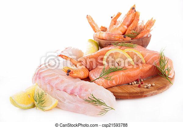 otrzyjcie skórę rybę - csp21593788