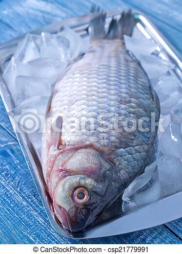otrzyjcie skórę rybę - csp21779991