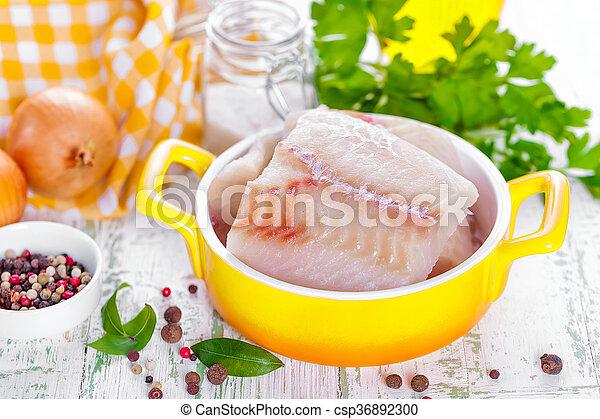otrzyjcie skórę rybę - csp36892300