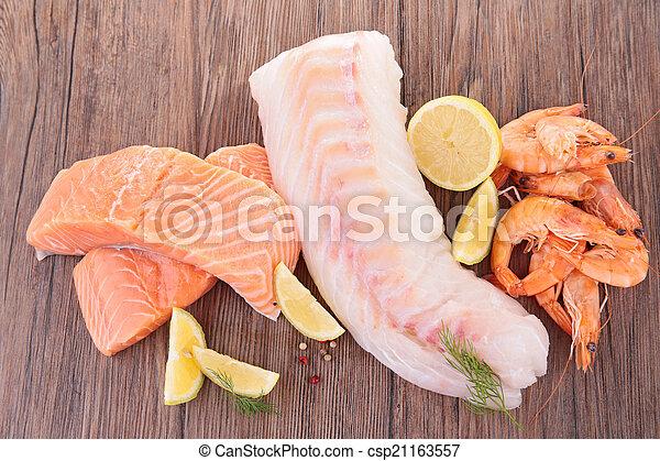 otrzyjcie skórę rybę - csp21163557