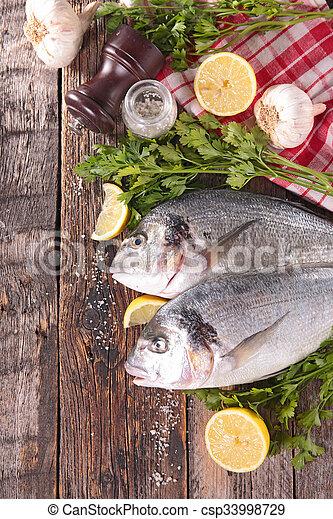 otrzyjcie skórę rybę - csp33998729