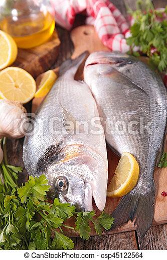 otrzyjcie skórę rybę - csp45122564